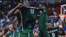 L'équipe de basketball du Nigeria