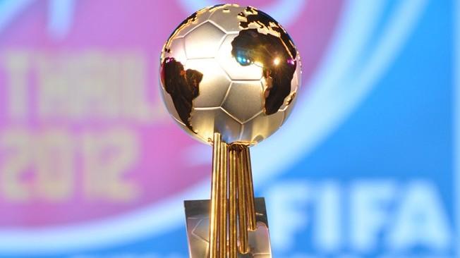 Le trophée du Mondial de Futsal