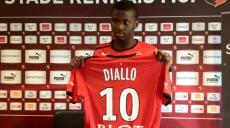 Diallo est un nouveau venu à Rennes
