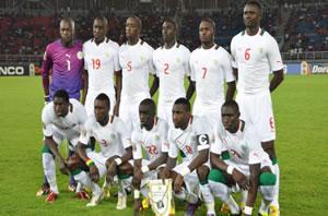 L'équipe de football du Sénégal