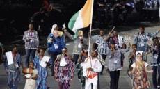 La délégation ivoirienne à Londres 2012