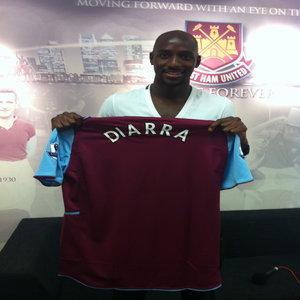Alou Diarra à West Ham