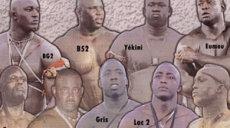 lutteurs senegalais