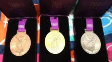 Les médailles des jo Londres