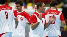 L'équipe de hand de la Tunisie