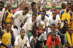 BURKINA FASO U17 CELEBRATION 2011