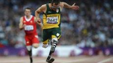 O Pistorius en finale 100m T44