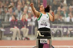 Nassima Saifi décroche l'or