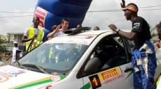 la Côte d'Ivoire au rallye de France