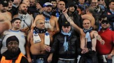 Des supporters de Naples