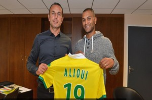 Alioui a signé à Nantes