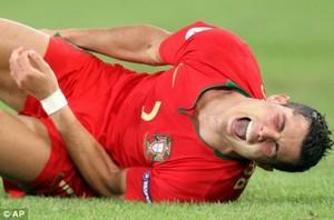 Ronaldo pourrait être forfait