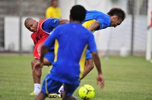 Les 24 Gabonais contre le Togo