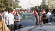 Les manifestants au Caire