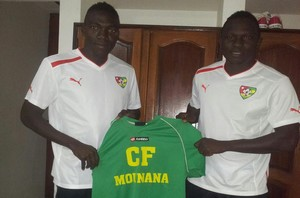 N'Souhoho et Amétépé à Mounana