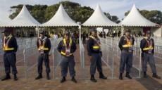 policier sud africain