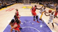 Joakim Noah (18 points, 17 rebonds) n'a pu empêcher  Los Angeles Lakers d'enregistrer une importante victoire dans la course aux play-offs. Dans son antre du Staples Center, la franchise californienne...