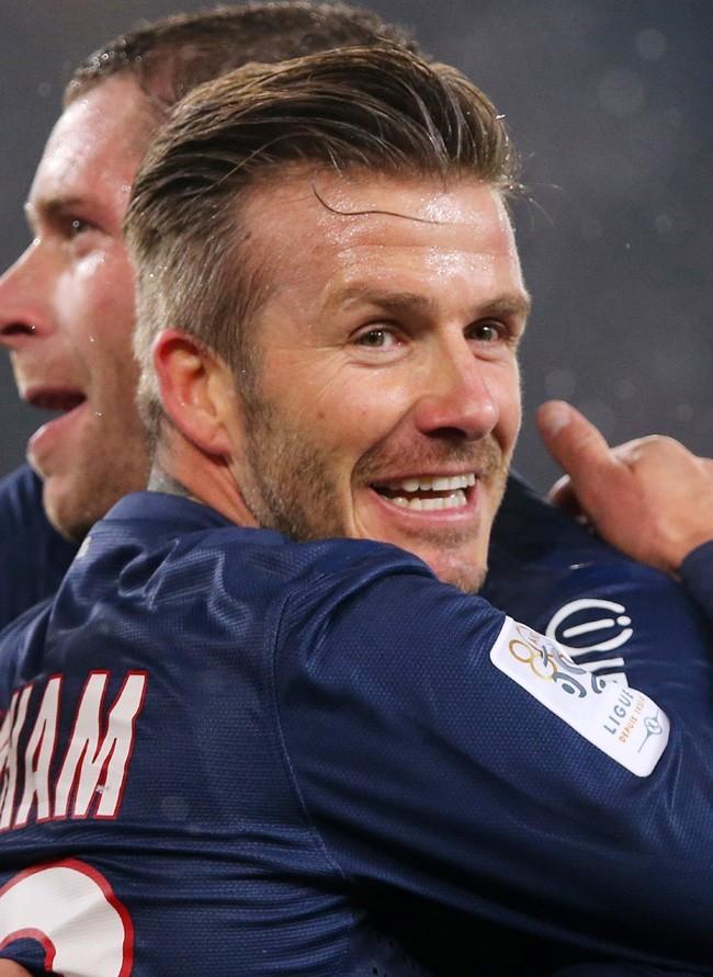 Psg david beckham va t il finir par marquer africa top sports - Coupe david beckham ...