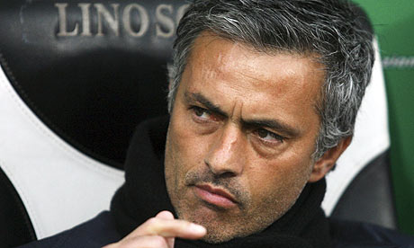 Mourinho remercie les supporters