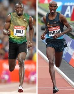Mo Farah_Usain Bolt