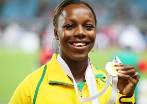 FILE - Jamaican Sprinter Veronica Campbell-Brown Tests Positive For Banned Substance
