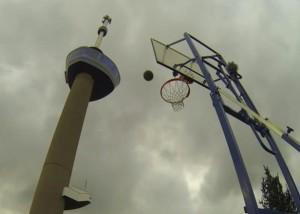 basket le tir le plus haut du monde