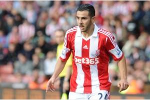 19-10-2013.Stoke City V West Bromwich Albion (0-0)Oussama Assaidi