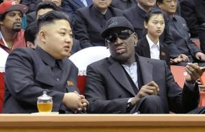 Jong-Un et Rodman