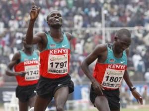 Kenya athlètes
