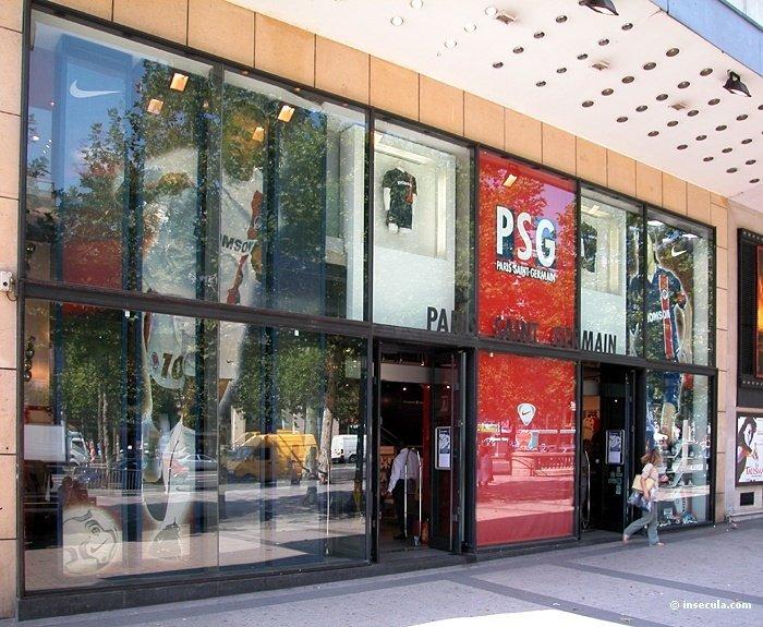 le psg vient d 39 ouvrir sa premi re boutique officielle au qatar africa top sports. Black Bedroom Furniture Sets. Home Design Ideas