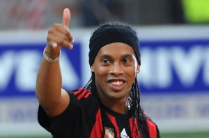 Ronaldinho Press Conference