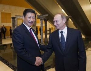 Poutine et Jinping