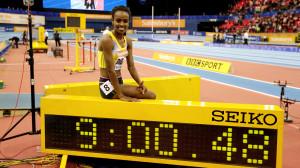 genzebe-dibaba_record mondial en salle du 2 miles