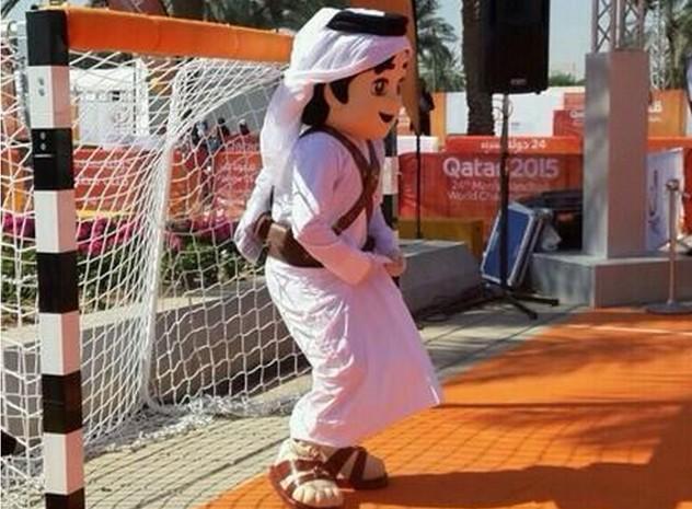 Image du jour fahad la mascotte du championnat du monde - La mascotte de la coupe du monde 2014 ...