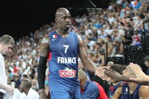 BASKET BALL : France vs Espagne - Amical - Montpellier - 26/08/2013