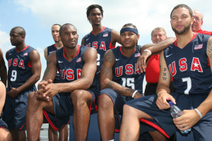 U.S. Olympic Men's Basketball Team Unveil Their New Team Look to Fans