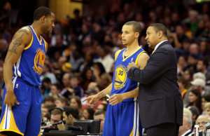 Andre Iguodala_Stephen Curry_Mark Jackson-golden state