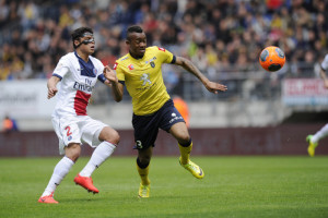 FOOTBALL : Sochaux vs Paris - Ligue 1 - Championnat de France 2013 / 2014 - 27/04/2014 -