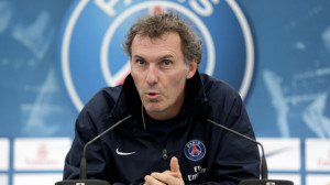 Laurent Blanc takes first training session with Paris Saint-Germain - video
