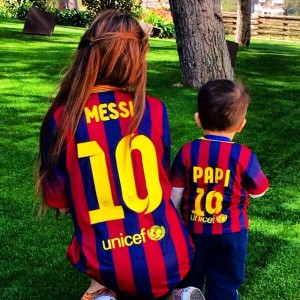 Messi Famille