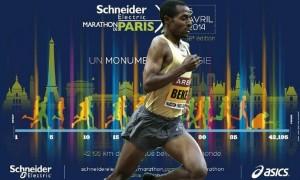 kenenisa bekele attendu au marathon de paris 2014