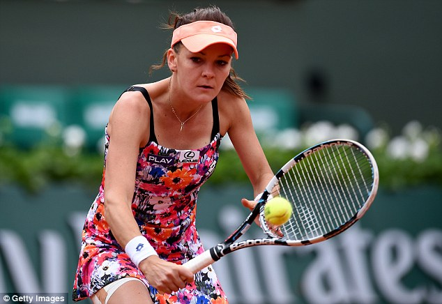 Tennis-Roland Garros: Radwanska sortie par Tomljanovic
