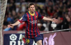 FOOTBALL : FC Barcelone vs Celta Vigo - Liga - 30e journee  - 26/03/2014