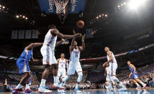 kevin durant and co_oklahoma city-la clippers