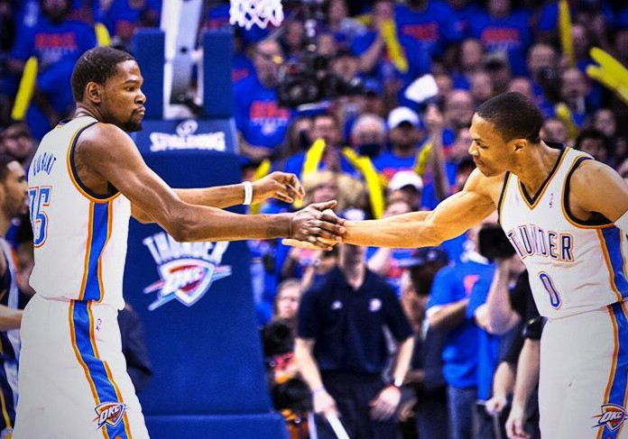 NBA-Playoffs Game 7: Russell Westbrook et Kevin Durant envoient le Thunder en demie - Africa Top ...