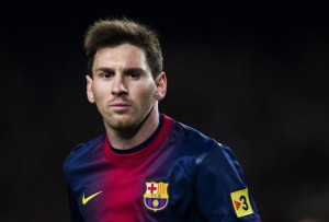 messi colère