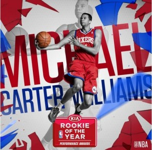 michael cartre-williams_ROY2014