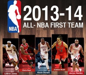 2013-2014 All-NBA First Team
