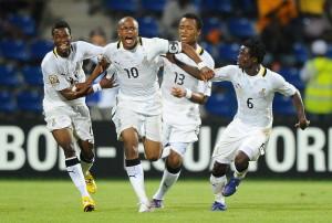 Football : Tunisie / Ghana - Coupe d Afrique des Nations - 1/4 - 05.02.2012 -