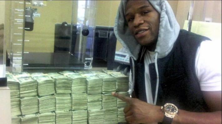Floyd Mayweather_sportif le mieux payé en 2014
